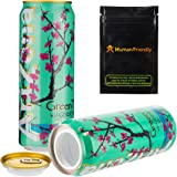 Arizona Green Tea Diversion Safe Stash Can w HumanFriendly Smell-Proof Bag
