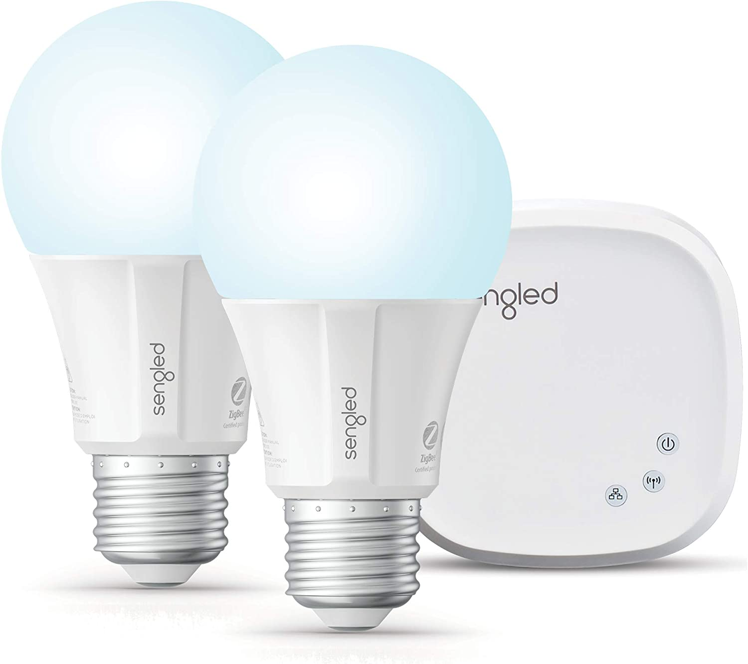 Sengled Smart LED Daylight A19 Bulb 1 Pack 5000K 60W Equivalent Compatible with Alexa Hub Required Google Assistant /& SmartThings