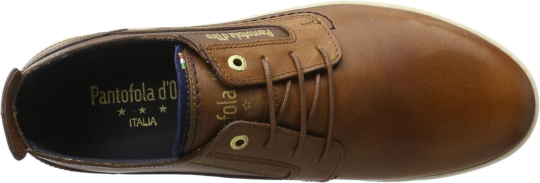 Pantofola d\'Oro Herren Vigo Uomo Low Sneaker Braun Tortoise Shell xACVH JzAkw
