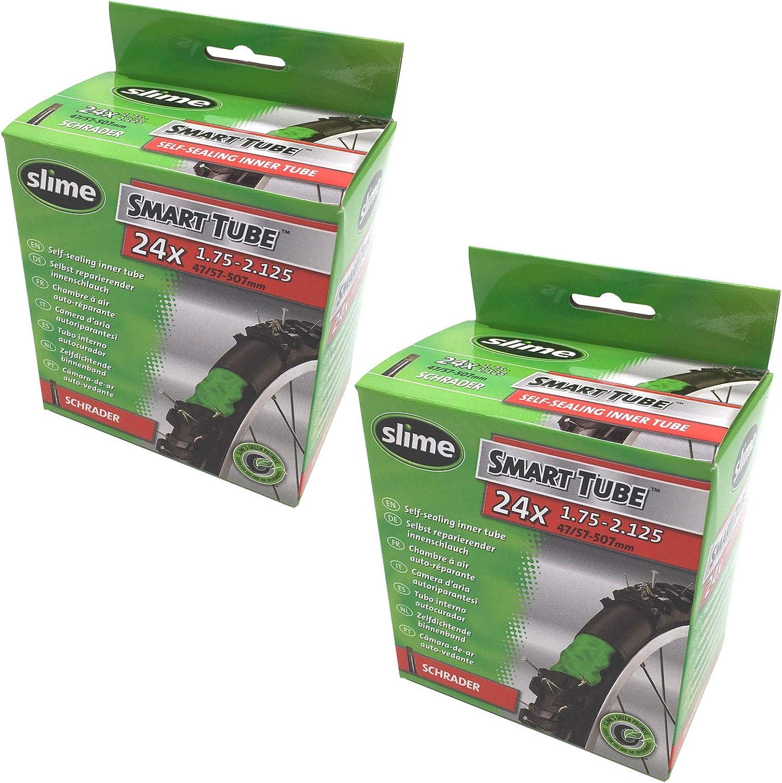 "Slime Smart Bike Tubes 24/"" x1.75-2.125/"" Bicycle inner tube."