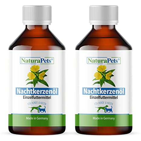 NaturaPets® - Aceite Natural para Velas nocturnas para Perros y Gatos (2 x 100