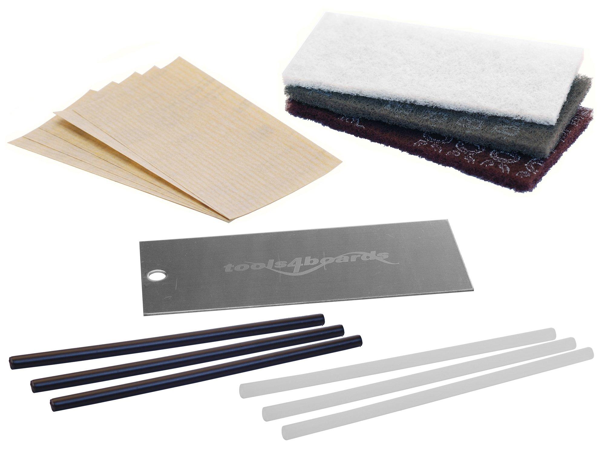 Tools4Boards PTEX Ski & Snowboard Base Repair Kit