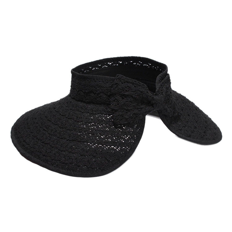 2018 Summer Sun Hat Lace Bow Gorras Vacías Sombreros Sombrero de ...