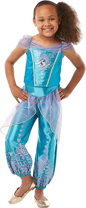 Rubies Official Disney Princess Jasmine Disfraz de gema, Color ...