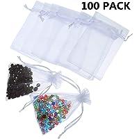 50 unidades Bolsas de caramelo con forma de cono transparente FTVOGUE