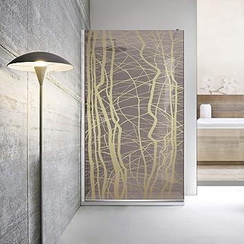 Modern Glass Art Leroy Timeless Manhattan - Mampara de ducha (8 mm ...