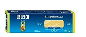 De Cecco Semolina Pasta, Linguine No.7, 1 Pound (Pack of 5)