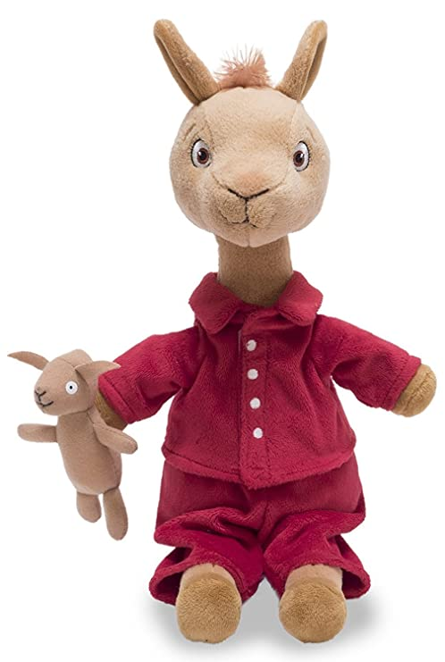 70192756c8 Amazon.com  Cuddle Barn Llama Llama in The Red Pajama Talking Plush ...