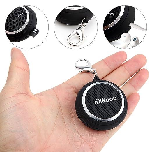 3 opinioni per dikaou Portable Super Mini altoparlante senza fili Bluetooth 4.0altoparlante