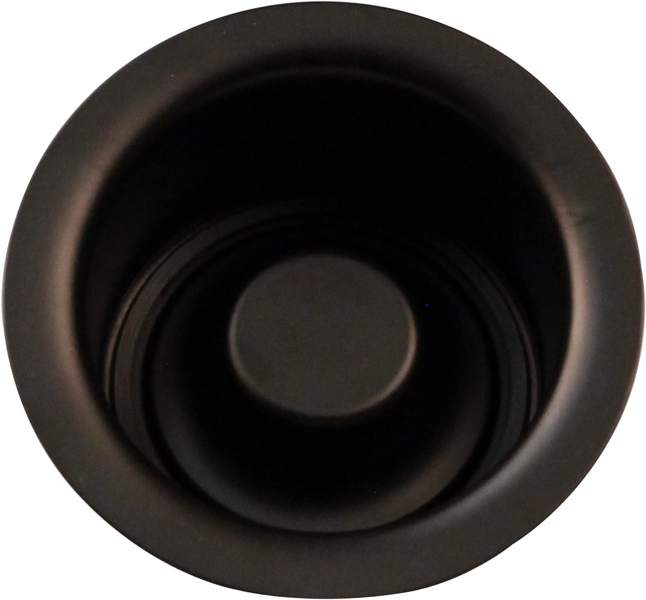Westbrass R2082-12 Extra-Deep Disposal Flange and Stopper, Oil Rubbed Bronze