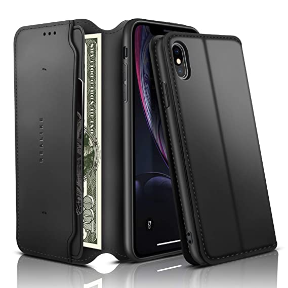 iphone xs max flip case magnetic