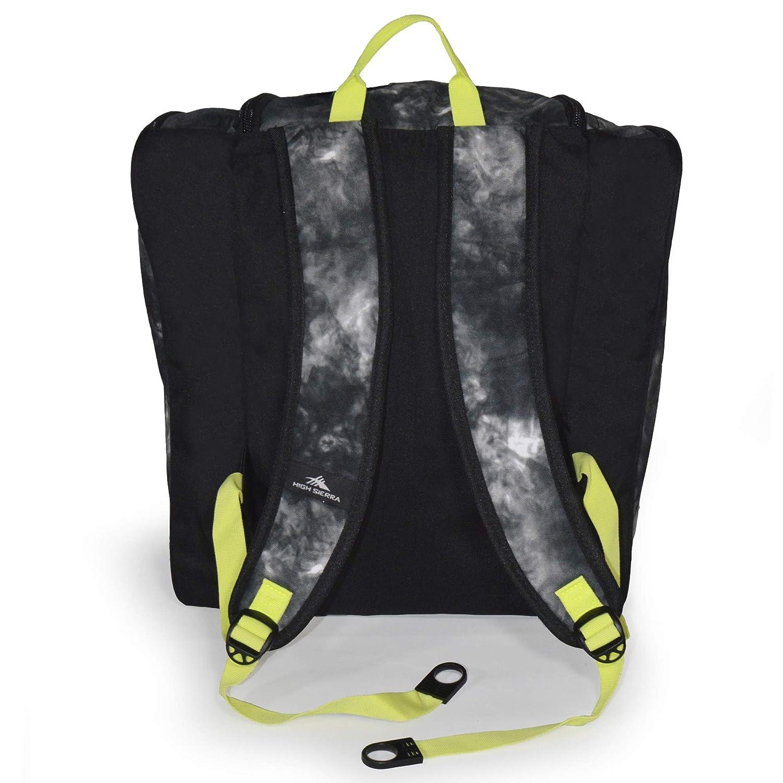 4ca690b6b99bc Amazon.com : High Sierra Ski Boot Trapezoid Boot Bag, Atmosphere/Black/Zest  : Sports & Outdoors