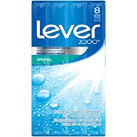 Lever 2000 Bar Soap for a refreshing shower experience with a fresh scent Original with deep yet gentle cleansers 89 g…