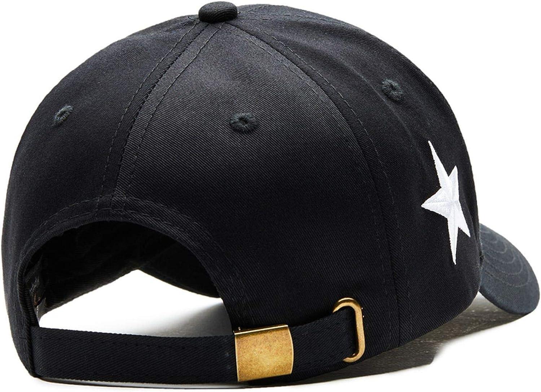 Moktasp Cotton Men Women Baseball Cap Pentagram Snapback Leisure Men Women Baseball Bone Hat Adjustable Baseball Caps