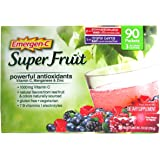 Emergen-C Super Fruit Antioxidants, Pomegranate, Triple Berry, 90ct, 0.3oz
