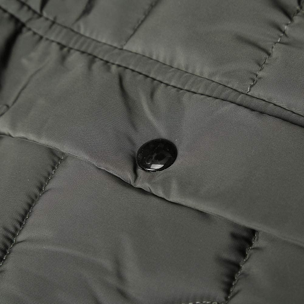 Pandaie-Mens Product Wool Pea Coat Men Long.Fashion Mens Autumn Winter Warm Casual Pocket Zipper Hoodie Thermal Top Coat