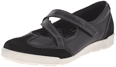 Ecco Footwear Womens Women's Crisp II Mary Jane Flat, Black, 36 EU/5
