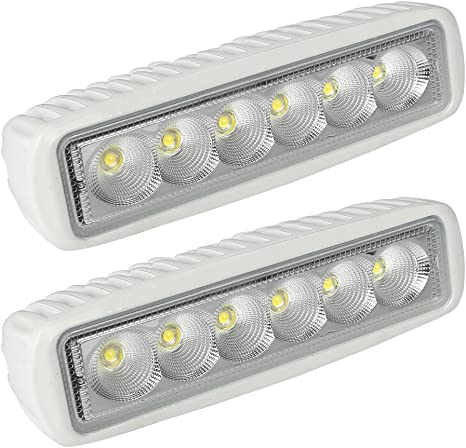 1X Waterproof 36W Bright LED Spreader//Deck Light fit For Sailboats//Fishing boats