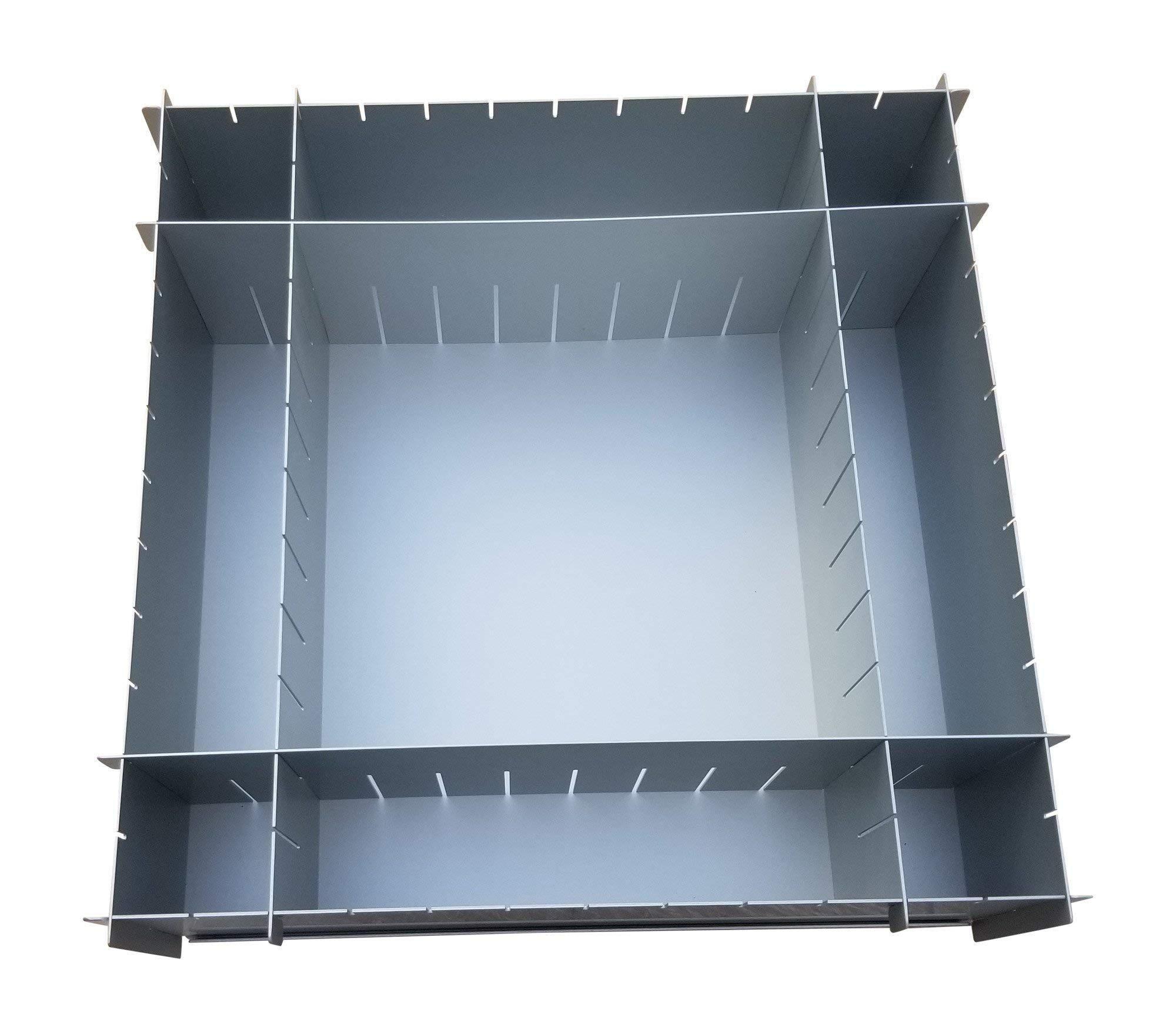 12'' x 4'' Deep Multisize Cake Pan With Extra Set Of Dividers - 4 Dividers Total - By H&L DesignWare by H&L DesignWare (Image #5)