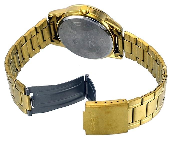 Gold Wr Solar Powered Date Ip ModMtp Black Ss Bracelet 1a Quartz Vs01g Casio Dial 30mtoriginal 41mm Box zSUqMpVG