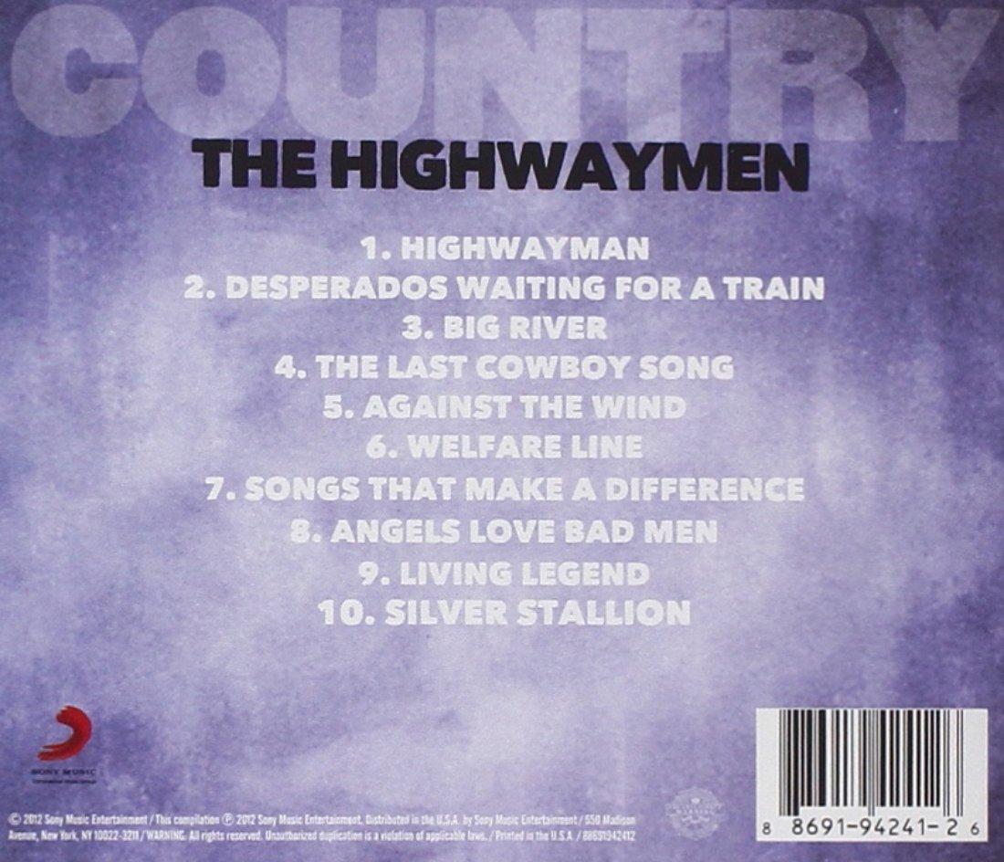 The Highwaymen Country The Highwaymen Amazon Com Music