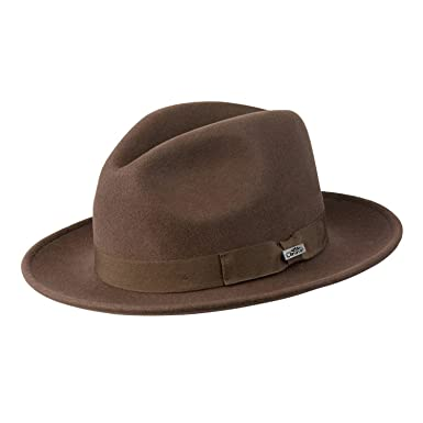 c75c70a2d88 Conner Hats Men s Wyatt Wool Fedora Hat at Amazon Men s Clothing store