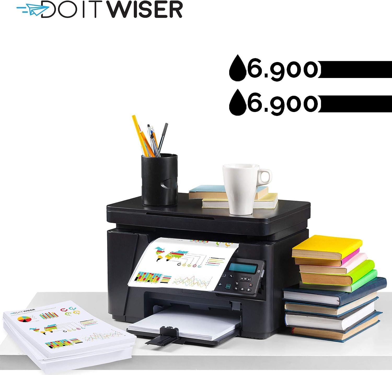 Black, 2-Pack Do it wiser Compatible Toner Cartridge Replacement for HP 80X CF280X LaserJet Pro 400 M401a M401d M401dn M401dne M401dw M401n M425dn M425dw