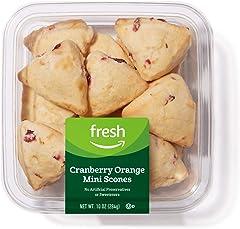 Fresh Brand – Cranberry Orange Mini Scones, 10 oz
