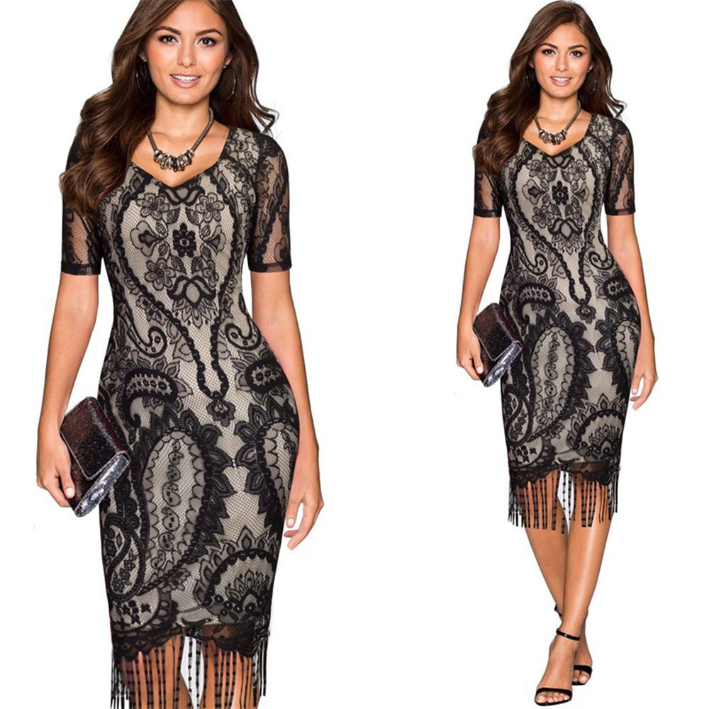 32b80c5bd Vestidos De Fiesta Largos Sexys Casuales Cortos Negros Ropa De Moda para  Mujer 2018 De Noche Elegantes VE0048