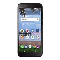 Total Wireless Carrier-Locked TCL LX 4G LTE Prepaid Smartphone - Black - 16GB -...