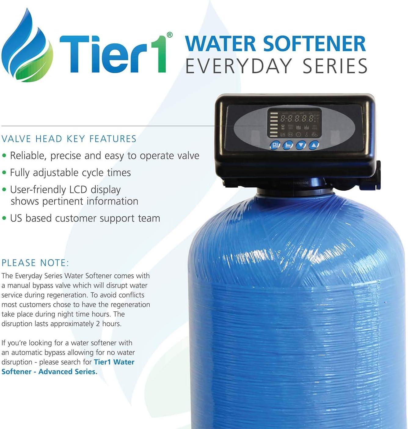 Tier1 48,000 Grain Water Softener everyday series