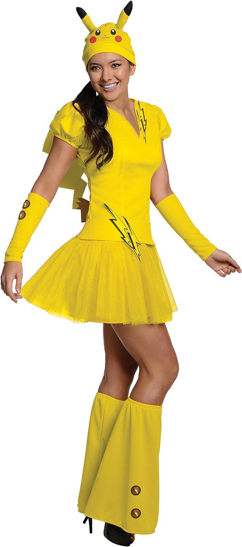 Disfraz de Pikachu Pokemon para mujer: Amazon.es: Juguetes y juegos