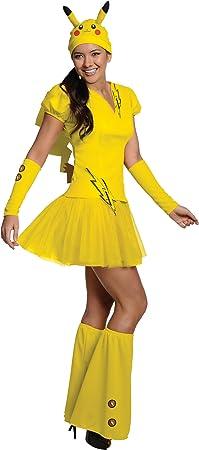 Disfraz de Pikachu Pokemon para mujer: Amazon.es: Juguetes y ...