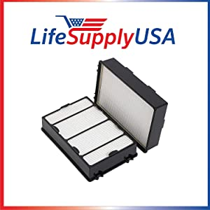 LifeSupplyUSA 2 Pack Compatible with Holmes, HEPA Air Filter, Compare to Filter Part HRC1, Holmes Part # HAPF600, HAPF600D, HAPF600D-U2