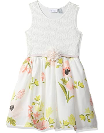 51925bfee7fe The Children's Place Big Girls' Sleeveless Dressy Dress