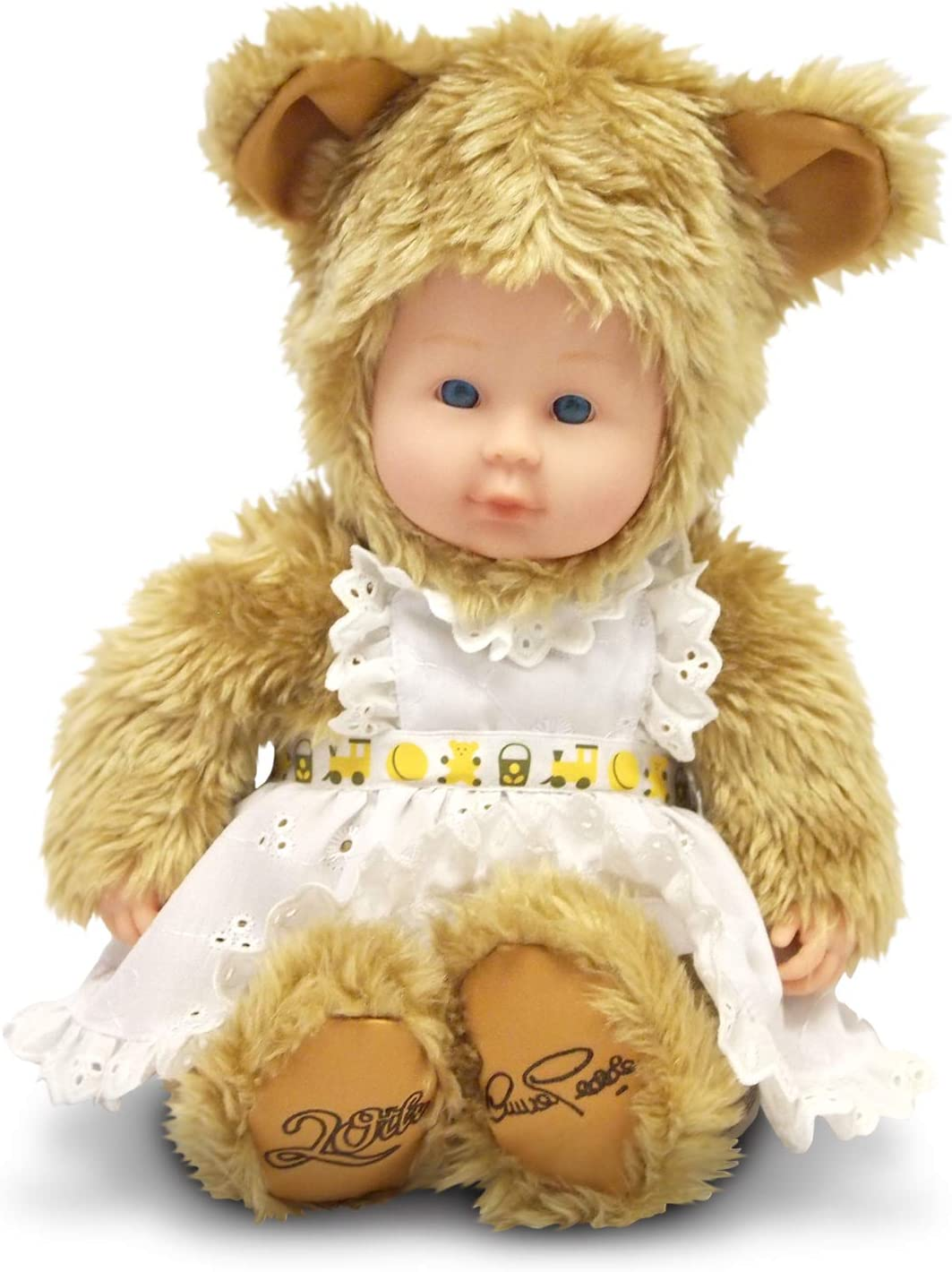 Anne Geddes 20th Anniversary Baby Girl Bear Doll
