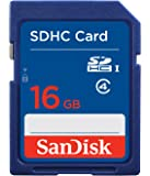 SanDisk Flash 16 GB SDHC Flash Memory Card SDSDB-016G (Label May Change)