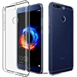 Efonebits(TM) Transparent Premium Soft Silicone Back Case Cover For Huawei Honor 8 Pro