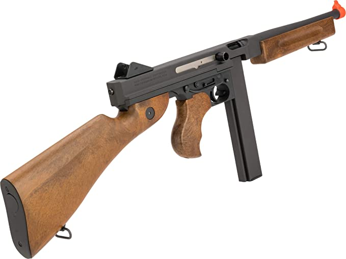 Amazon com : Evike Auto Ordnance WE-Tech M1A1 Thompson Gas