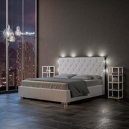 Letti Con Contenitore Design.Group Design Letto Alexa Con Contenitore In Bianco L 172 P 205 H