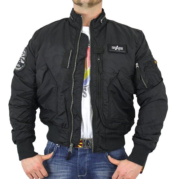 mejor calidad nuevo producto el más baratas Alpha Industries - Chaqueta - para Hombre: Amazon.es: Ropa y ...