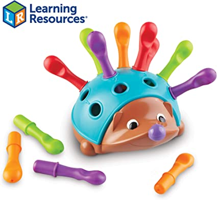 Learning Resources Spike The Fine Motor Hedgehog, Sensory, Fine Motor Toy, Ages 2+