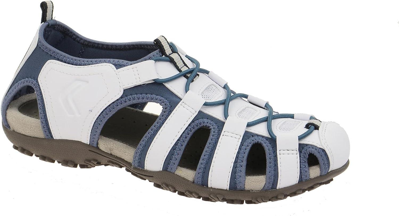 Damen Sandale Outdoor Sandaletten Geox SAND.STREL D7125U rBVBf