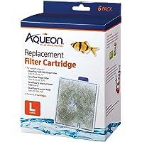 Aqueon Filter Cartridge, Large, 6 Pack