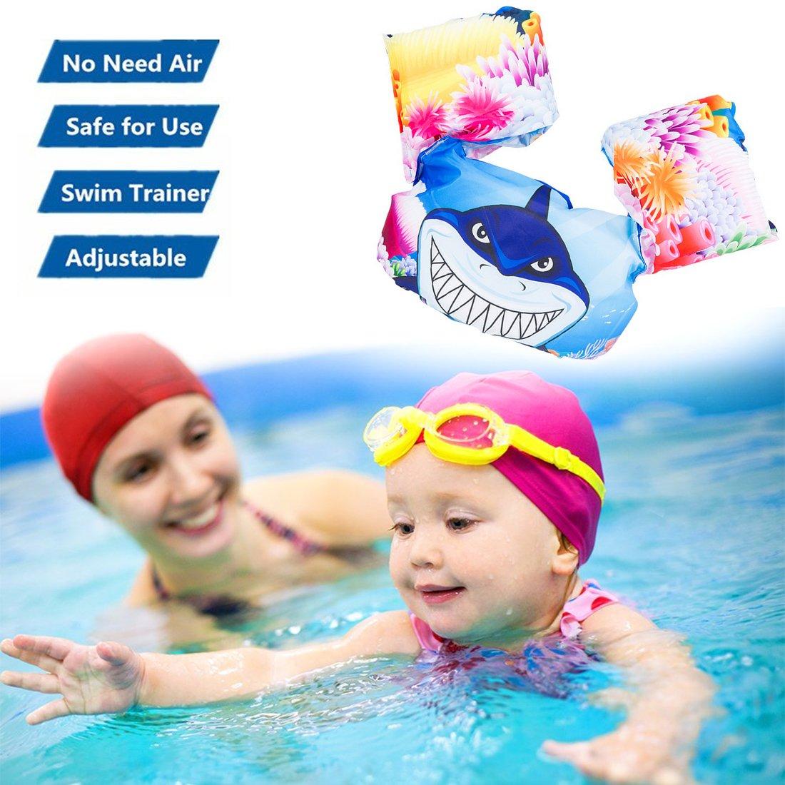 sunandy natación brazo bandas Swimtrainer flotador salvavidas flotabilidad chaleco aprender independencia flotante traje de flotación Dispositivo 30 - 60 kg ...