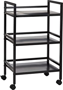 AmazonBasics 3-Tier Metal Rolling Cart