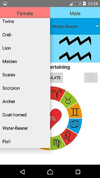 zodiac sign love test