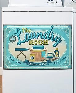 Lively Laundry Washing Machine Magnet - Wash Room Appliance Decoration