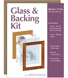 mcs glass backing kit for 85x11 picture frame