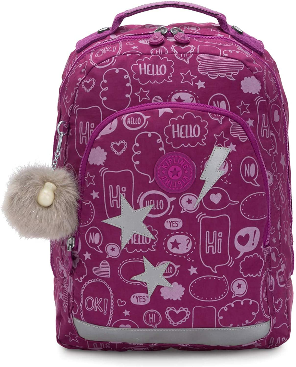 "Kipling Class Room Small Printed 13"" Laptop Backpack"